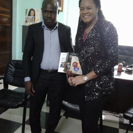 Rencontre avec le Préfet d'Aného, Togo