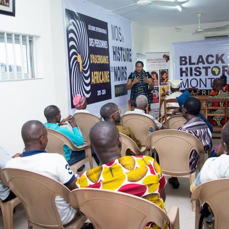Black History Month Africa 2020, première réunion publique au Bénin
