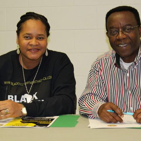 Union pour la réussite du Mois de l'Histoire des Noirs à Québec et en Afrique