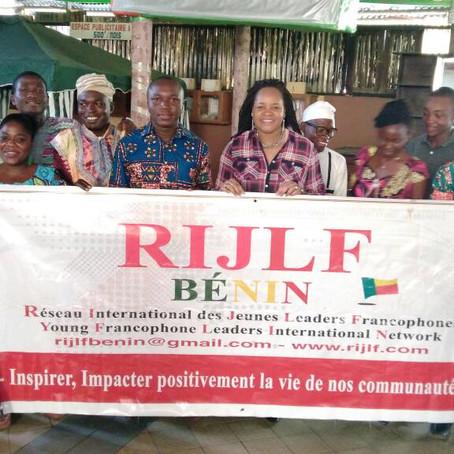 Les jeunes du RIJLF Bénin montrent l'exemple pour impacter positivement