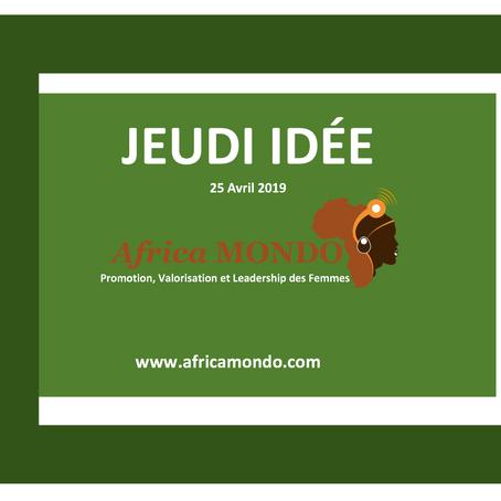 Les idées du Jeudi de Africa Mondo
