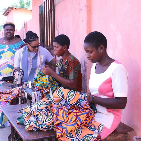 L'ONG Africa Mondo Bénin offre des bourses à des couturières