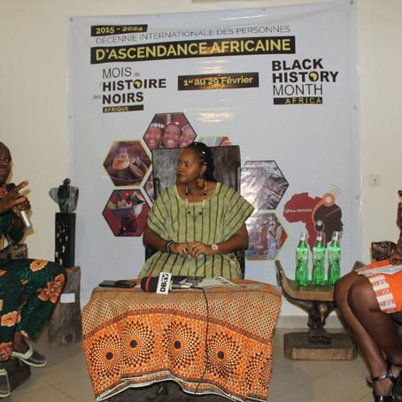 Per diem et journalisme en Afrique francophone, débat au Black History Month Africa au Bénin