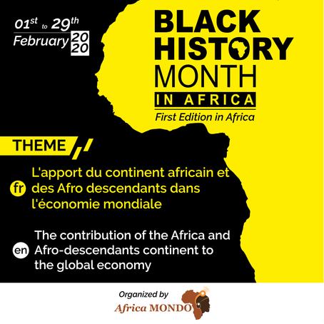 Pourquoi organiser le Mois de l'Histoire des Noirs en Afrique ?