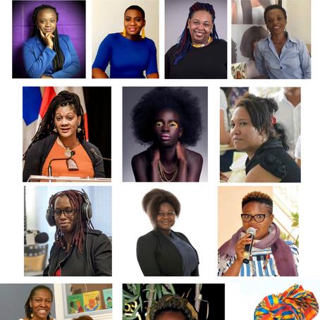 Les Candidates Finalistes du Concours International Femmes Noires Inspirantes, édition 2019