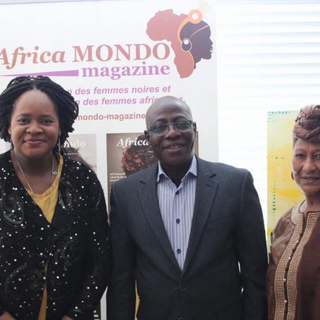 Déjeuner de travail avec SEM René KOTO SOUNON, Ambassadeur du Bénin au Canada