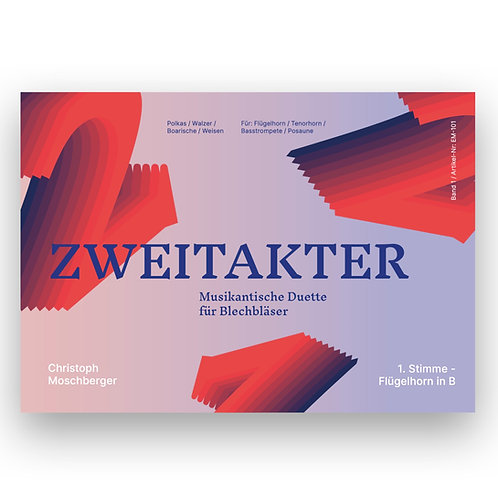 ZWEITAKTER – Musikantische Duette für Blechbläser