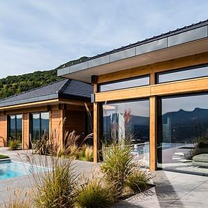 Maison bois Monterminod