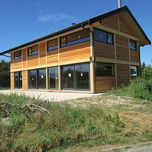 Maison bois Lac Léman