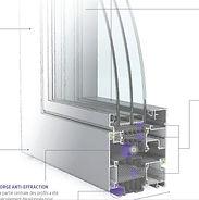 Fenêtre ALU Eco Design Menuiserie