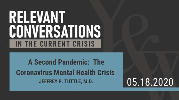 A Second Pandemic: The Coronavirus Mental Health Crisis