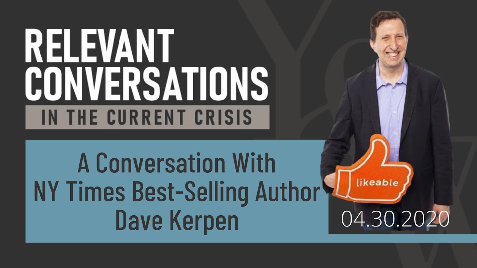 A Conversation with NY Times Best-Seller Dave Kerpen