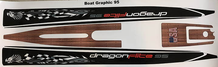 DF 95 Custom Graphics Black Carbon Fiber #25