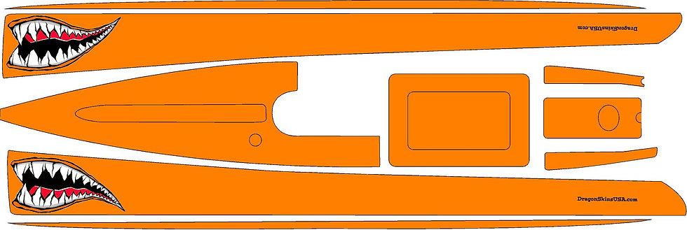 Dragon Force 65 Custom Graphics Orange Tiger #20