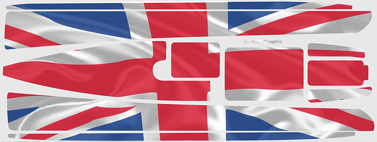 DF65 UK Waving Flag #7