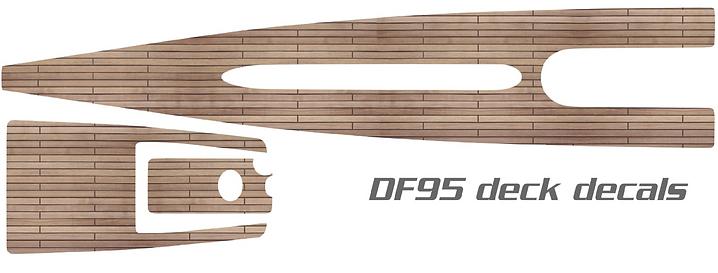 DF95 Vinyl Wood Deck