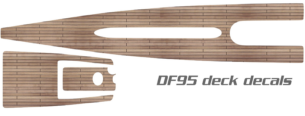 DF95 Vinyl Wood Deck