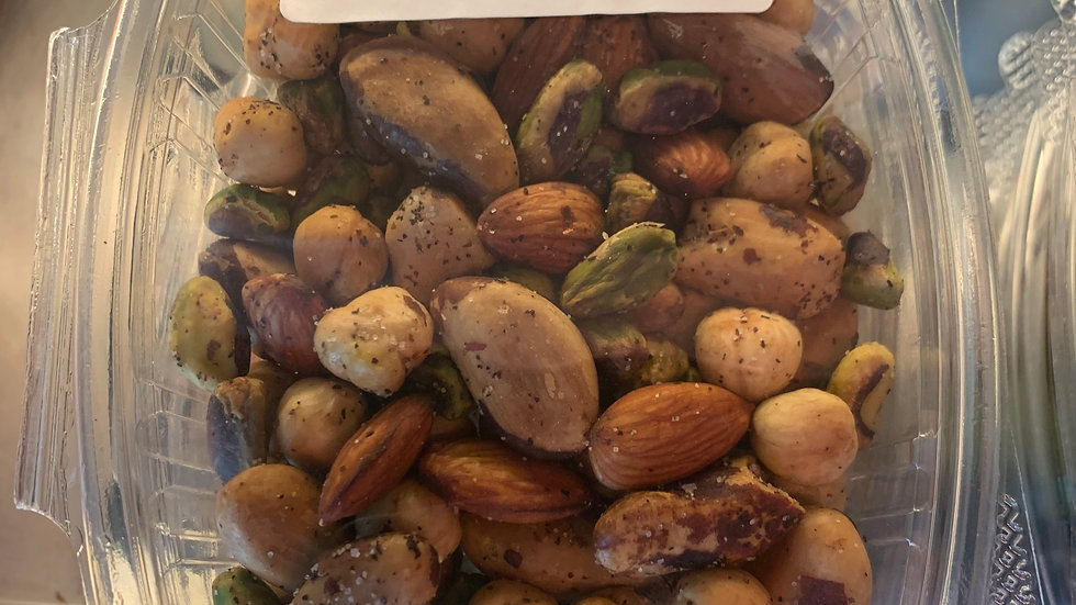Roasted Mixed Nuts/ 1/2 pint