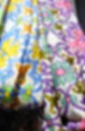 fular flores modal