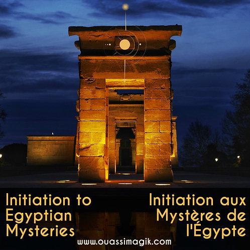 1 Course / 1 Atelier : Initiation aux Mystères de l'Égypte - Egyptian Mysteries