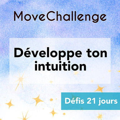MoveChallenge 21 jours - Intuition