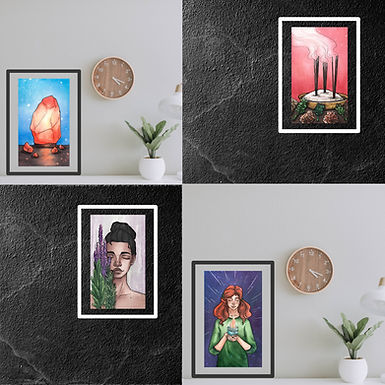 """Prints for your home 'Nest of Light Oracle"""""""
