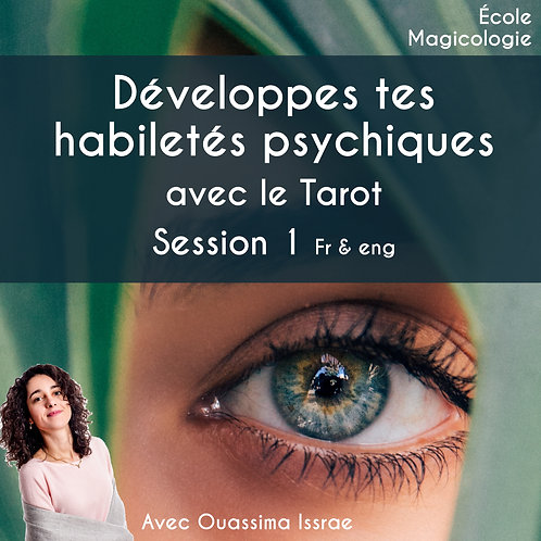 Develop your psychic abilities with Tarot FR et ANG