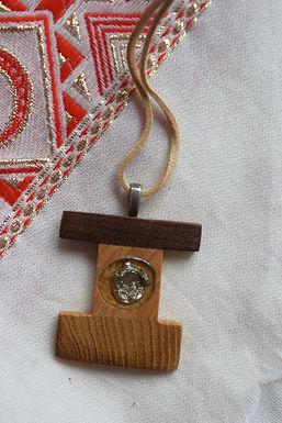 Tonic Wooden Necklace I Bijou en bois