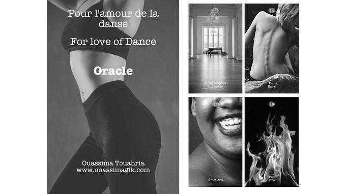"""Fr/Eng Atelier Pour l'amour de la dance Workshop """"For Love of Dance"""""""