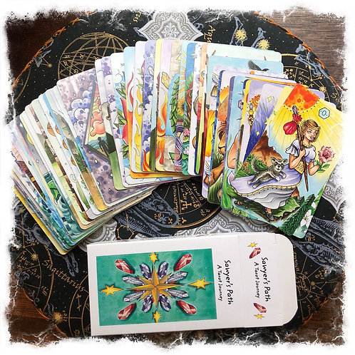 Sawyer's Path Tarot Original Print