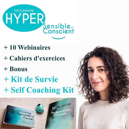 Programme Hypersensible et conscient + Self Coaching Kit (67 cartes)