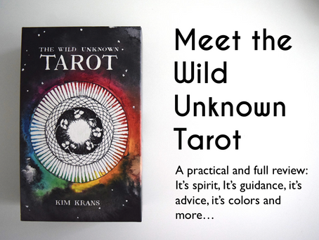 The Wild Unknown Tarot : What is your spirit ?