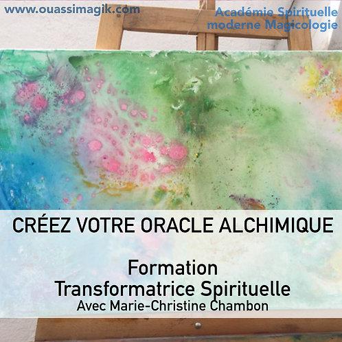 Créez votre Oracle /Oeuvre alchimique,  formation transformatrice, spiri