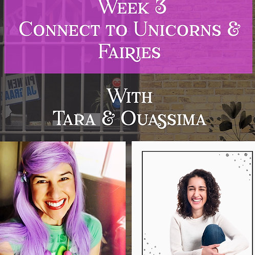 Workshop : Connect to the magical realms of Unicorns and Fairies