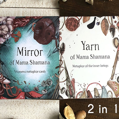 Combos : Mirror + Yarn of Mama Shamana (Shipping Included)