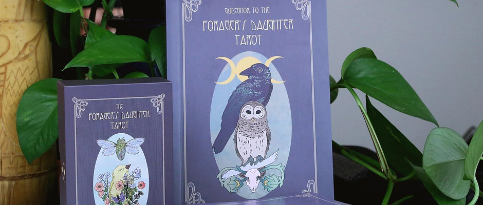 Forager's Daughter Tarot Deck + Guidebook - 1st edition