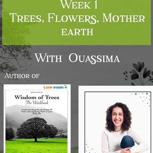 Workshop : Connect with Nature, Trees, flowers, Mother earth