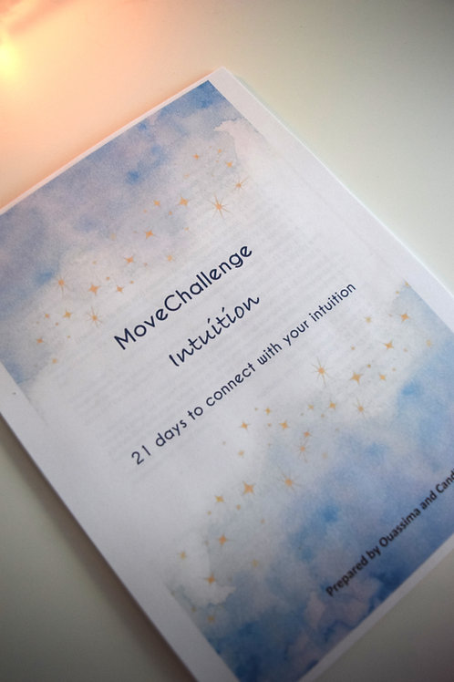 MoveChallenge workbook: Develop your intuition in 21 days