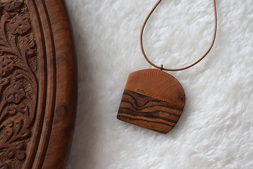 Creation Wooden Necklace I Bijou en bois