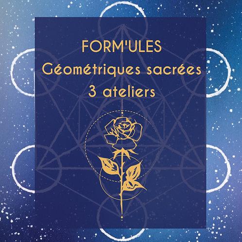 Form'ules Géométriques sacrées