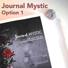 Photo couverture Journal mystic option 1