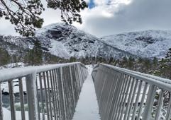 The bridge at Likholefossen