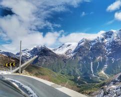 The viewpoint at Gaularfjellet