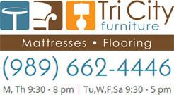TriCity Furniture in Auburn Logo