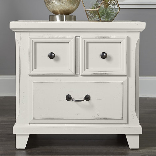 Timber Mill 2-Drawer Night Stand