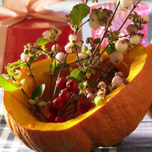 Natural Thanksgiving Decorations