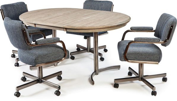 Chromcraft Dining Room Tables sold at Tri City Furniture