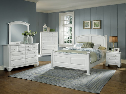 Hamilton Panel Bed w/ Storage (Queen)