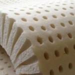 Latex foam for a foam mattress