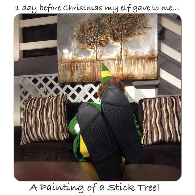 Buddy the Elf at TriCity Furniture